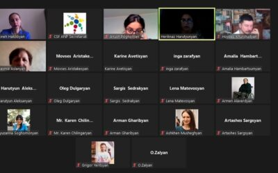 CSF Armenian National Platform Online Assembly – 23.09.2021